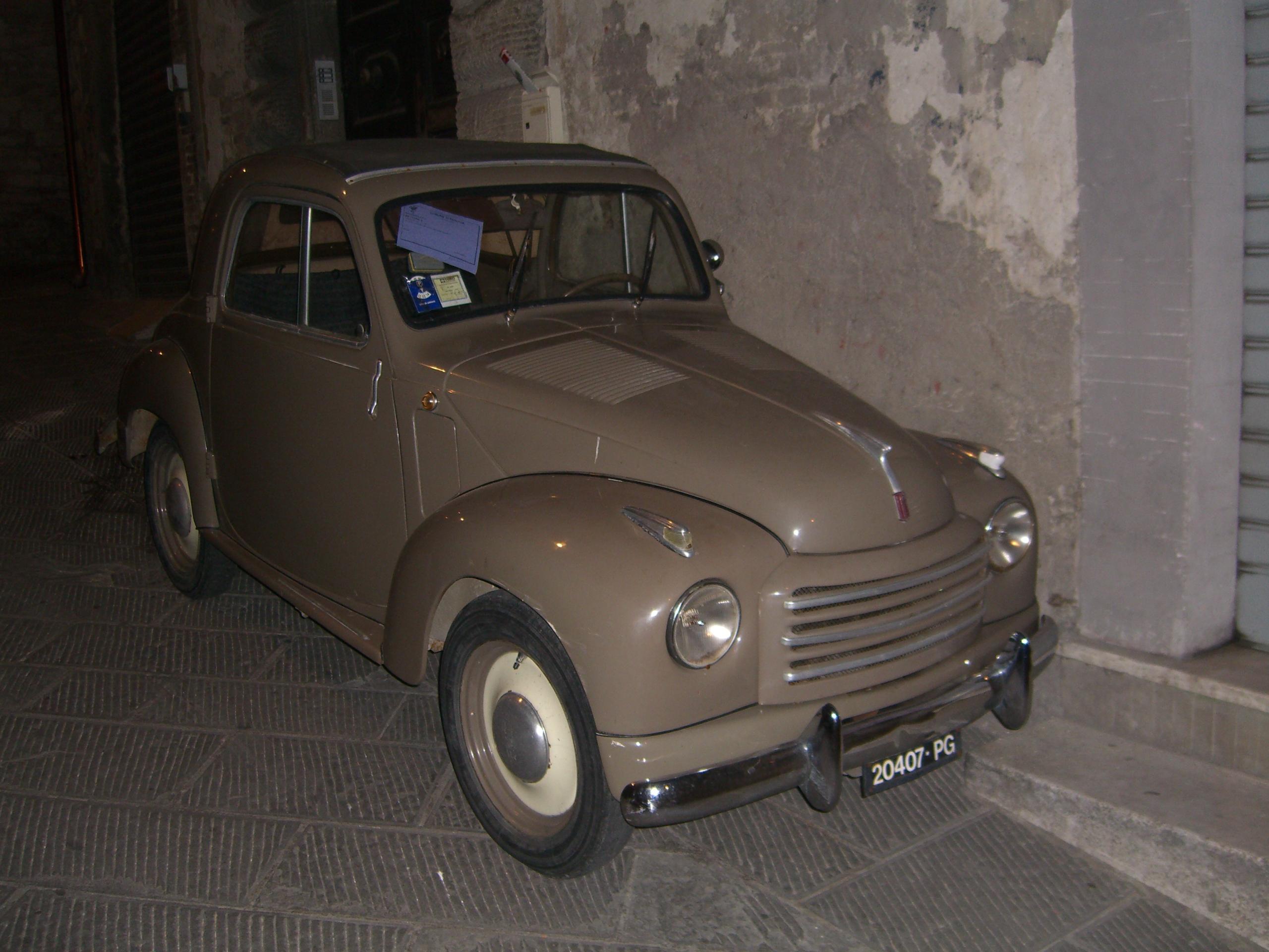 Topolino Fiat 500 (Topolino)